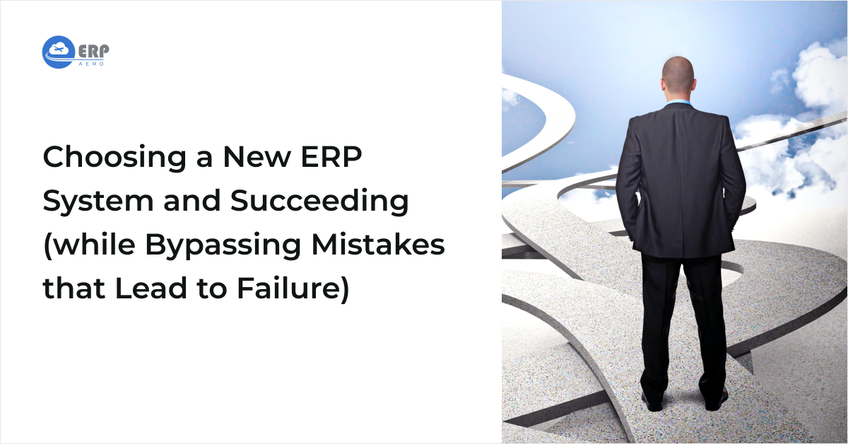 CEO Choosing a New ERP System and Succeeding